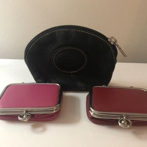 Roots and Danier Leather Coin Purses